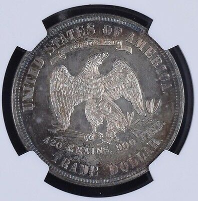 1881 Trade Dollar $ PR64 NGC  **    Proof Only Coin ** Under Graded Specimen 4