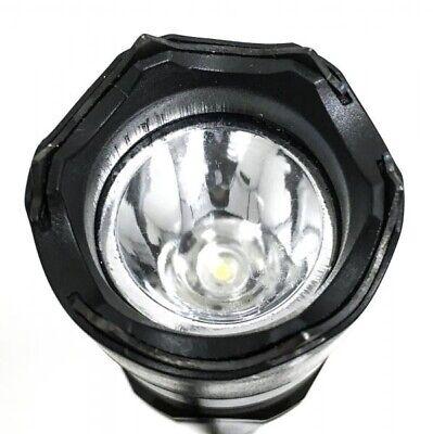 Metal MILITARY Stun Gun 980 Million Volt Rechargeable LED Flashlight + Case 3