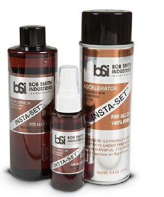 BSI Insta-Cure Super Thin Glue + Gap Filling Glue +Extra Thick 1/2oz 1oz 2oz 8oz