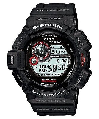 CASIO G SHOCK MUDMAN Watch G 9300 1 Free Express Solar G  P6lUS