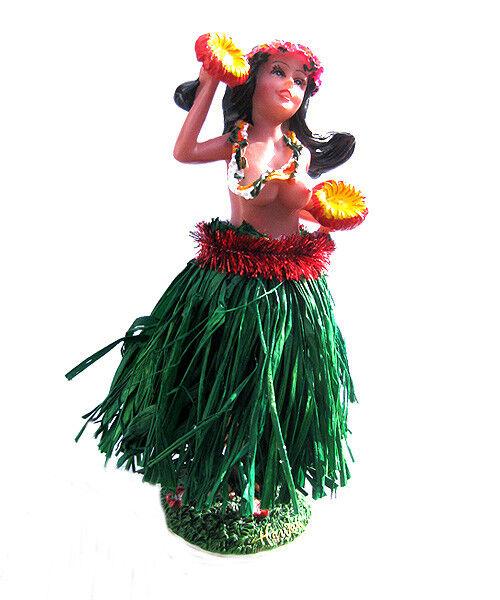 Aloha Wackel Hula Mädchen Figur (16cm) - Oben Ohne