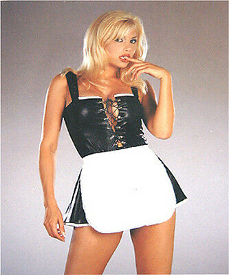 1 erotischer schwarzer dehnbarer Sizzling Body Suit Einheitsgröße M