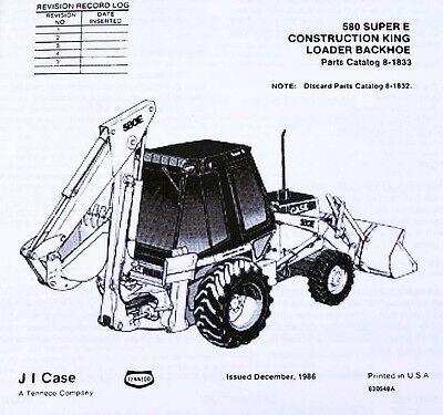 Farming & Agriculture Case 580 Super E Operators Manual 1986