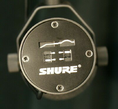 Shure SM7B Radio TV Dynamic Vocal Microphone SM7 Free US 48 State Shipping! 4