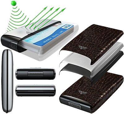f1aaf08e0ec7 3 sur 5 TRU VIRTU Cuir Aluminium étui pour cartes de crédit Porte-cartes  bancaires