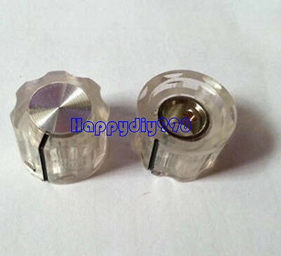 2pc-transparent-volume-Knob-potentiomete