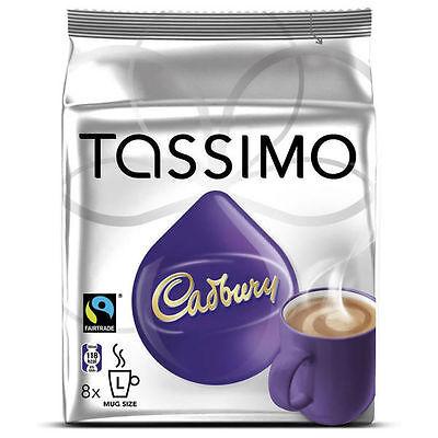 Tassimo Cadbury Hot Chocolate, 5 Packs (40 Servings) 3