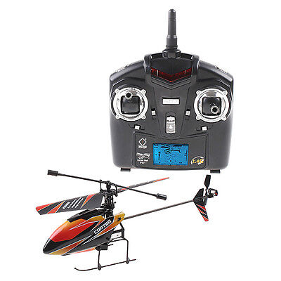 4Ch 2.4Ghz Mini Radio Single Propeller Rc Helicopter Gyro V911 Rtf Toy Outdoor 7