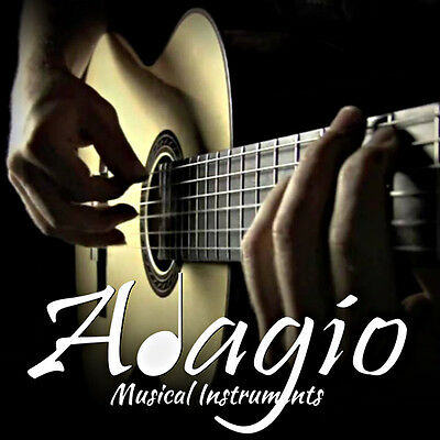3 Packs Nylon Classical Guitar Strings By Adagio + FREE CHART + 1ST CLASS POST 6