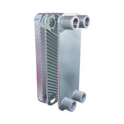 SCAMBIATORE di calore a Piastre NORDIC TEC 1' DN25 INOX 100-175kW + ISOLAMENTO 9