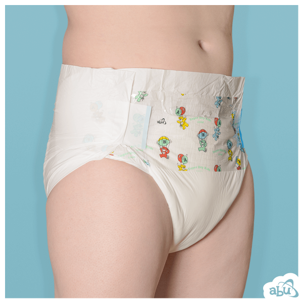 ABUniverse ABU Super Dry Kids SDK Diapers ABDL - Pack of 10 8