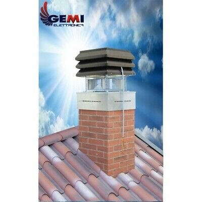 Gemi Basic Chimney Exhaust Fan For Fireplace 110 Volts New!! 3