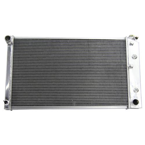 3Row Aluminum Radiator For Chevy Blazer GMC K15//K1500 35//3500 Pickup Truck 68-72
