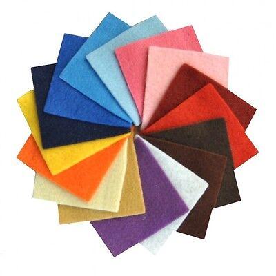 2PZ 40x60 cm Pannolenci Panno lana Lenci feltro colorato spessore 1 mm 20 colori 4