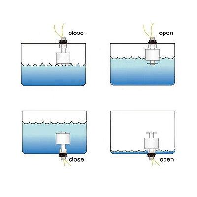 45mm Stainless Steel Float Ball Switch Tank Liquid Water Level Sensor 0-250V