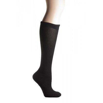 COMPRESSION SOCKS MD Ribbed Cotton Cushioned 8-15mm HG men women 1 pair