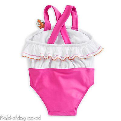 DISNEY STORE FINDING NEMO FLIP FLOPS BABY GIRL PINK ADJUSTABLE HEEL STRAP NWT