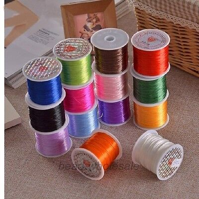 1Roll 10M Strong Elastic Stretchy Crystal Cord String Thread For Barcelet Chain 2