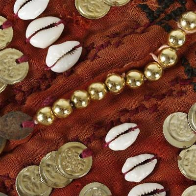 Egyptian nomadic beaded textile trapping or adornment with coins and ... Lot 134