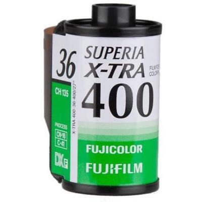 3 Pack Fuji Superia X-TRA CH ISO 400 36 Exp. 35mm Color Film, 108 Exposures 2