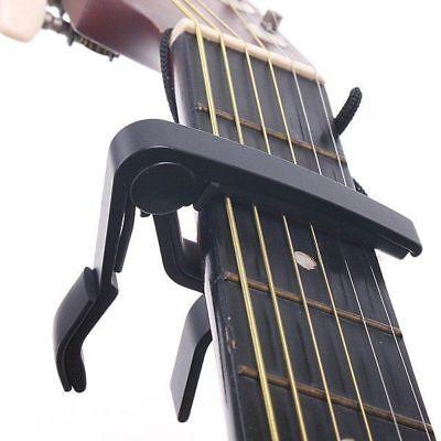 Quick Release Capo Aluminium Metal Trigger For Acoustic Or Electric Guitar 2