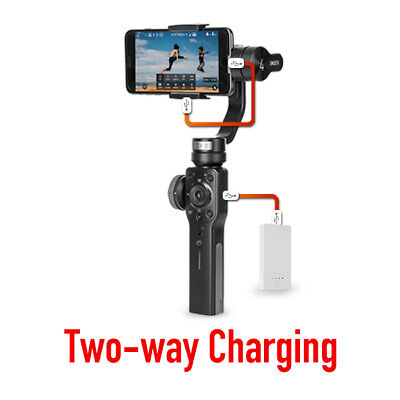 Zhiyun Smooth 4 3-Axis Gimbal Stabilizer for Smartphone Mobile | No Manual 9
