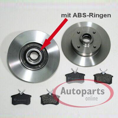 Genuine QH dischi del freno Asse posteriore Audi VW Skoda Bdc3929 di frenatura parte di ricambio