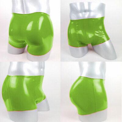 Unisex Latex Rubber Boxer Shorts Handgemacht 100% Gummi Briefs Höschen S-XXL 7