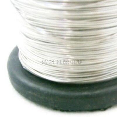 4 X 250g roll of Galvanised Bee hive / frame foundation wire 2 • EUR 13,12