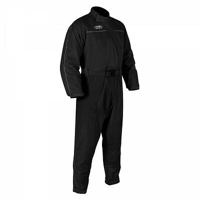 Oxford Rainseal Motorcycle Motorbike Over Suit Riding Oversuit S-6XL Black 3