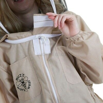 Buzz Basic Beekeepers Suit With Fencing Veil And Gloves - Khaki *All Sizes* 3 • EUR 28,35