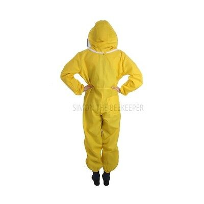 Buzz Basic Beekeepers Suit With Fencing Veil And Gloves - Yellow *All Sizes* 4