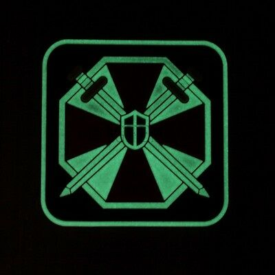 Luminous Resident Evil Umbrella Corporation UBCS 3D PVC Patch Small 2