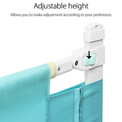 Adjustable Child Kid Toddler Safety Bed Rail Baby Bedrail Cot Guard Protection