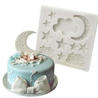 Silicone Fondant Cake Mold Mould Chocolate Baking Sugar craft Candy Decor Tools 4