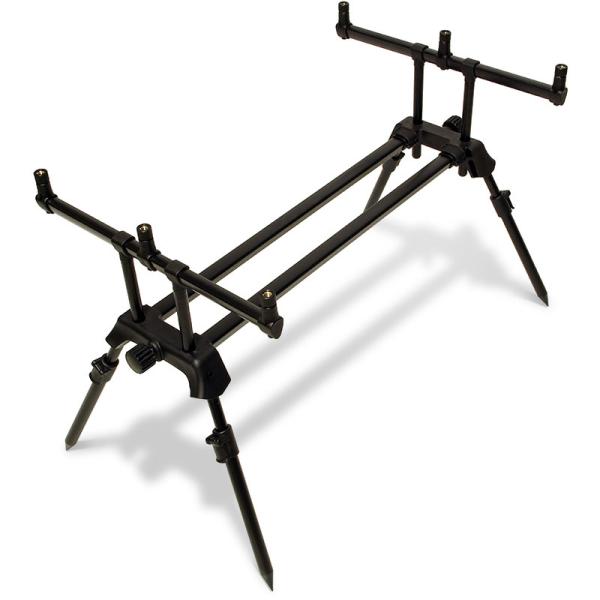 Profiler NGT Karpfenangel Rod Pod elektronischer Bissanzeiger Set Rutenhalter