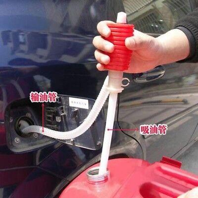 Portable Plastic Car Siphon Hose Liquid Gas Oil Water Transfer Hand Pump Sucker