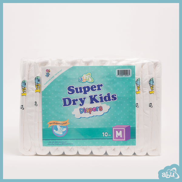 ABUniverse ABU Super Dry Kids SDK Diapers ABDL - Pack of 10 3