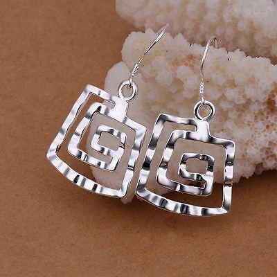 Pretty Fashion Silver 925 charm lady NEW women Earring Jewelry best gift 2