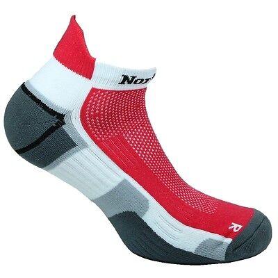 Norfolk Running Microfiber Cushioned Low Cut w/ Back Tab Men's Sock Style:OWENS