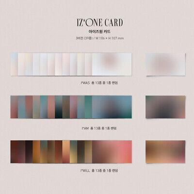 IZ*ONE BLOOM*IZ 1st  Album IZ*ONE CARD Select Member IZONE BLOOMIZ 2