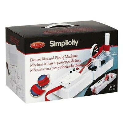 Bias Tape And piping Machine Simplicity Bias Tape & Piping Machine RRP £149 2