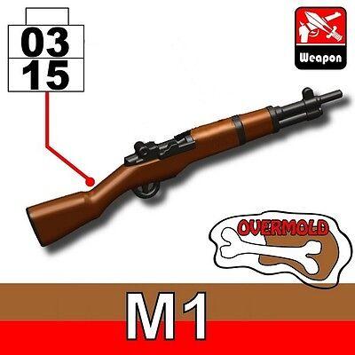 WW2 US Rifle compatible w//toy brick minifig W166 M1 Garand with scope