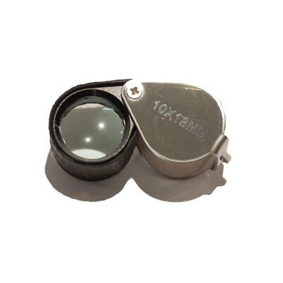 Rubber Field Hand Lens Magnifying Glass Magnifier Loupe Nature 10X Magnification 2
