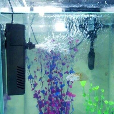 300LPH verticale Aquarium Fish Tank Filtre interne Pompe de filtration pulvérisa 5