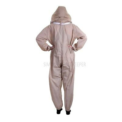 Buzz Basic Beekeepers Suit With Fencing/Astronaut Veil - Khaki 3