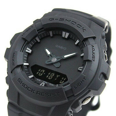 ce1a8b2876 CASIO G-SHOCK BLACK Out Series Watch GShock G-100BB-1A