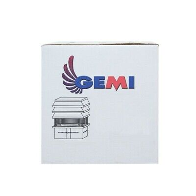 Gemi Basic Chimney Exhaust Fan For Fireplace 110 Volts New!! 12