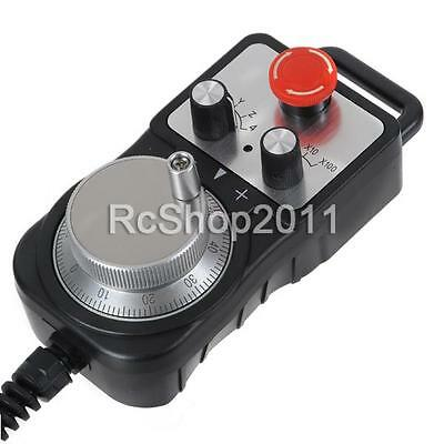 Universal cnc 4 axis pendant mpg handwheel emergency stop switch 1 of 7free shipping universal cnc 4 axis pendant mpg handwheel emergency stop switch controller us aloadofball Image collections
