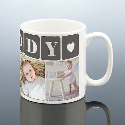 DADDY PHOTO MUG Personalised Birthday Gift Best Dad Cup New Dad Birthday Present 4